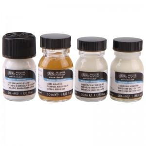 Set 4 Mediums per Acquerello - 75ml - Winsor&Newton
