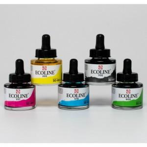 Acquerello Ecoline - Set 5 Colori Primari - Royal Talens