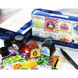 Inchiostro China Drawing Ink - Set William - 14ml. x 8 - Winsor&Newton