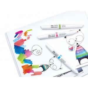 Pennarelli Pigment Marker - Set 6 Toni Vibranti - Winsor&Newton