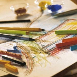 Matite Colorate Pastello - Set Paesaggio - Contè à Paris