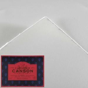 Blocco di Carta Heritage Grana Satinata - 36x26cm. - 12 Fogli - 300gr. - Canson