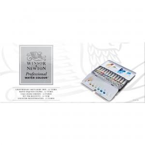 Acquerello Professional Water Colour Set Sketchers Box - 12 Tubi - Winsor&Newton