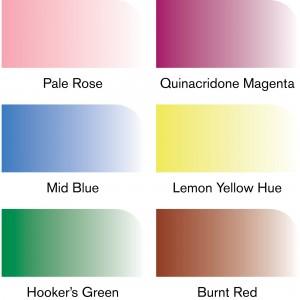 Pennarelli Promarker Watercolour - Set 6 Fiori - Winsor&Newton