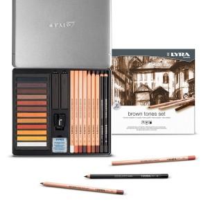 Rembrandt - Set Brown Tones - Lyra