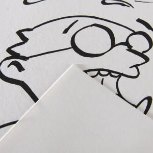 Blocco di Carta Illustration - 12 Fogli - 250gr. - Canson