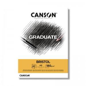 Blocco di Carta Graduate Bristol - 20 Fogli - 180gr. - Canson
