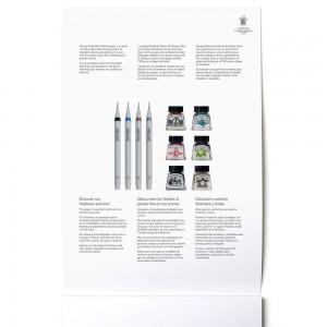 Blocco di Carta per Marker Bristol Extra-Liscia - 20 Fogli - 250gr. - Winsor&Newton