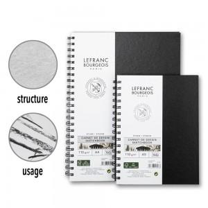 Taccuino da Disegno a Spirale - 80 Fogli - 110gr. - Lefranc&Bourgeois