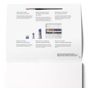 Blocco di Carta per Acquerello Professional Grana Fine - 300gr. - 20 Fogli - Winsor&Newton